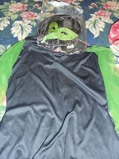 Halloween witch costume disguise brand womens size 12/14 spooky mask hat dress