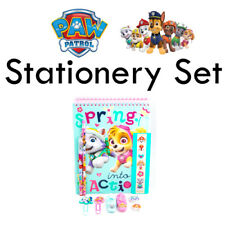 Nickelodeon Paw Patrol Rescue Pups Stationery Set Notebook Pen Pencil Erasers