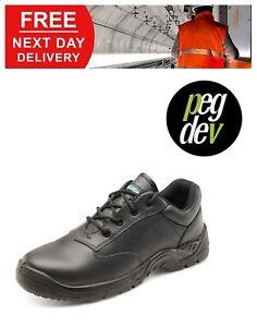 SAFETY FOOTWEAR BLACK COMPOSITE SHOE SIZES 5-13 HGCF52BLBS