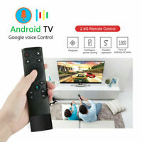 Q5 Air Mouse Gyro Voice Remote Control for Android Smart TV Media Box HDTV PS4