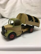 Dinky Toys #252 Bedford Refuse Wagon Garbage Dump Truck Green Meccano Dump Works