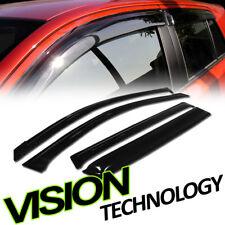 For 06-12 Toyota Rav4 Jdm Rain/Wind Guard Vent Shade Deflector Window Visors 4pc