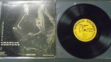 "VG+ Charlie Ventura An Evening With Mary Ann Mccall Norgran MGN-20 10"" LP 0"