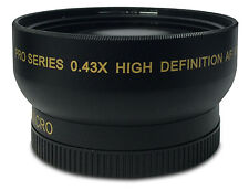 I3ePro 52MM 0.43X Wide Angle Lens For Nikon 18-55mm, 55-200mm, 50mm f/1.8D Lens