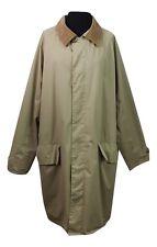 BARBOUR Manteau Taille XL beige Mac Trench Coton à L'extérieur au transport Bureau Walking