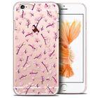 Coque Crystal Pour iPhone 6/6s (4.7) Extra Fine Rigide Spring Cherry Blossom