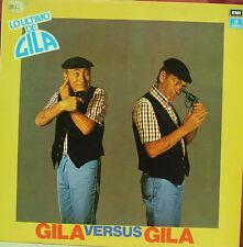 GILA-GILA VERSUS GILA LP VINILO 1980 SPAIN EXCELLENT COVER CONDITION-