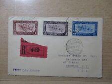S192/4193  ÄGYPTEN EGYPT Flug-Expressbrief FDC 248-50