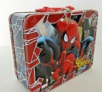 Marvel Spider Man Go Spidey Tin Pal Lunch Box Tin Only No Puzzle 2013
