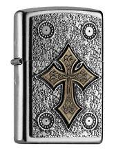 ZIPPO Benzin-Sturmfeuerzeug in OVP - Celtic Cross - Keltisches Kreuz ......Z1478