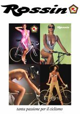 Rossin Girls trade advertising A4 colour poster Colnago Campagnolo Super Record