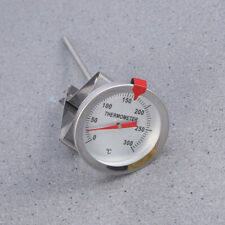 Candy and Deep Fry Thermometer for Cooking 150mm Probe Length Stainless Steel