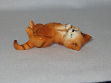"""Cat Nap"" Danbury Mint Cats Of Character Bone China Figurine - Mint"