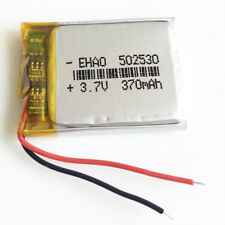 3.7V 370mAh Lipo Polymer Rechargeable Battery For MP3 bluetooth GPS PSP 502530