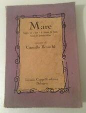 Mare Camillo Branchi illustrazioni di Franco Calzolari 1953