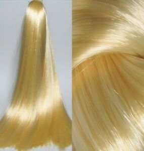 CREME BLONDE Saran Doll Hair for Custom Reroots (Formerly Golden Blonde)