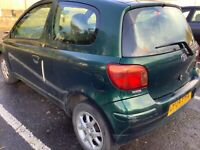 Toyota yaris d4d free local delivery spares or repair