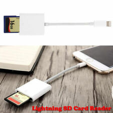 NEW Camera SD Card Reader Adapter OTG Cable For iPhone 7 Plus 6S Apple iPad MDG