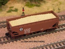 Hay Brothers SAND (FRACKING SAND) LOAD - Fits Micro-Trains 33ft Twin-Bay Hoppers