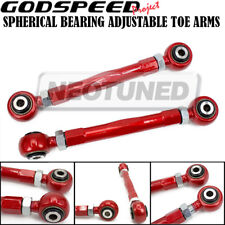 For Audi S5 2010-16 Godspeed Adjustable Rear Toe Control Arms 2pc Set Spherical