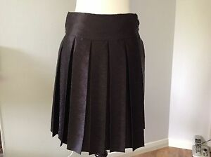 Ladies Emporio Armani Black Skirt Size 10