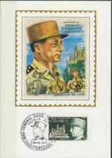 Frankrijk FDC Carte 1971 (044) - General Diego Brosset