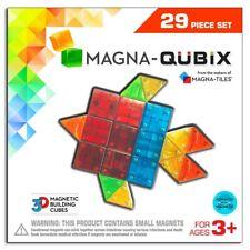Magna-Qubix 3D Magnetic Building Shapes (29 Pieces)