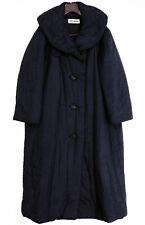 Rare ISSEY MIYAKEIconic Collar Puffy Long Coat Padding Black Boxy VTG Japan