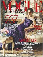 RACHEL WEISZ Vogue Living SOPHIE DAHL Spring Summer 2008 issue