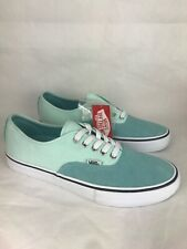 VANS Authentic Pro Aqua Haze Soothing Sea Mens Sz 8.5 Womens 10 UltraCush3479VER