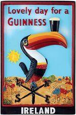 Guinness Toucan Weather Vane 3D resin fridge magnet (sg 5013)