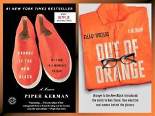 Orange is the New Black & Out of Orange Paperback Biographies 1-2 Paperback Set