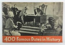 400 Famous Dates in History Vintage Chase & Sanborn Coffee Co Ad Booklet 1930s