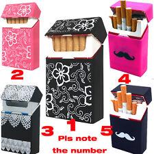 Portable Silicone Cigarette Case Box Smoking Accessories Holder Dispenser Flower