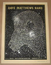 Dave Matthews Band Methane Studios Commerce City Poster Print Signed Numbered