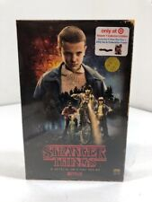 Stranger Things Season 1 DVD Blu-Ray 4-disc Target Exclusive VHS Package Sealed