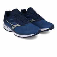 Mizuno Mens Wave Rider 23 Running Shoes Trainers Sneakers - Navy Blue Sports