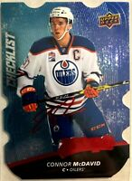 2017-18 Connor McDavid Upper Deck MVP Colors and Contours #100 Level 2 Blue