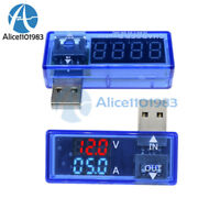 5V Digital Dual LED USB Current Voltage Meter Voltmeter Power Detector Ammeter