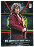 2016 Topps Doctor Who Exraterrestrial Doctors Across Space #4 The Fourth Doctor