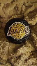 NBA  L.A. LAKERS SWAROVSKI CRYSTAL STONED BASKETBALL