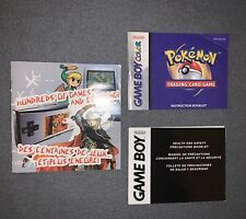 Game Boy Manual and Inserts