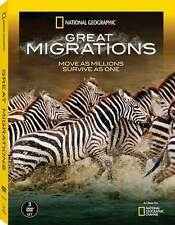 Great Migrations .. National Geographic .. 3 DVD .. OVP .. NEU