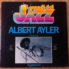 LP-Grandinetti Del Jazz Albert Ayler DI FRANCO FAYENZ