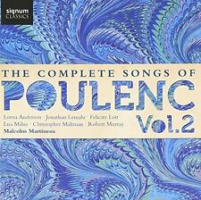 Lorna Anderson (soprano) - The Complete Songs of Poulenc Vol 2 [CD]