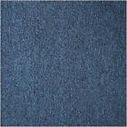 CARPET TILES (PETAL 22) BLUE WITH BLACK FLECK SAVE 60% ON RETAIL PRICES