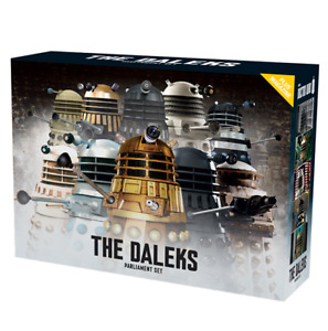 Eaglemoss Doctor Who: The Daleks Parliament 10-Piece Set 1 w/ Magazine In Stock