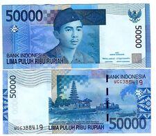 INDONESIA 50000 50.000 RUPIAH 2005/2008 UNC P 145 c