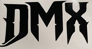 DMX hip hop vinyl decal sticker car/bike/laptop