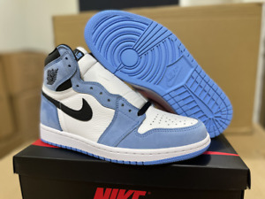 New Air Jordan Retro 1 High OG University Blue  Men's All Size Shop Now